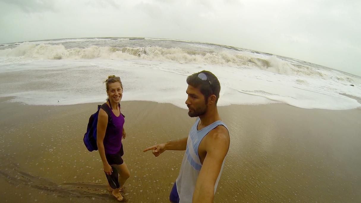 While in…Goa, India